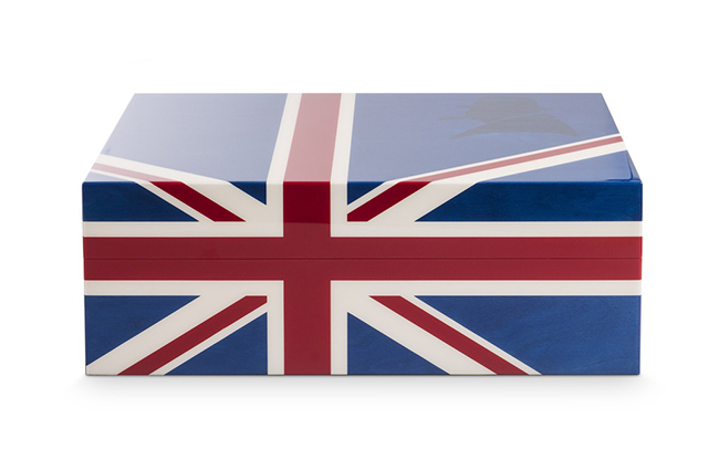 Winston Churchill Union Jack Humidor