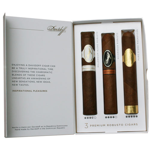 Inspirational Assortment of 3 cigars