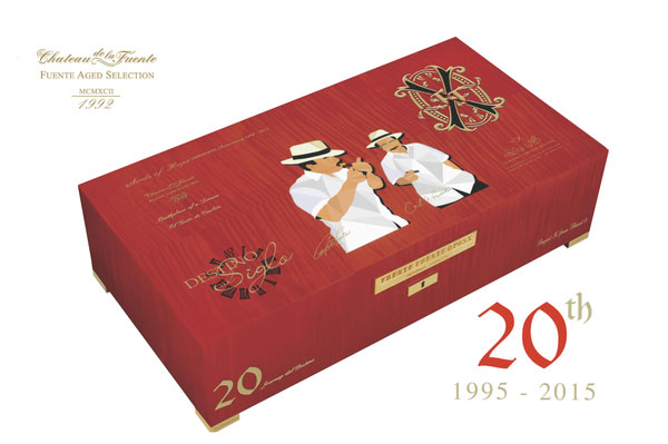 Opus X 20TH Anniversary Father and Son Humidor/Prometheus