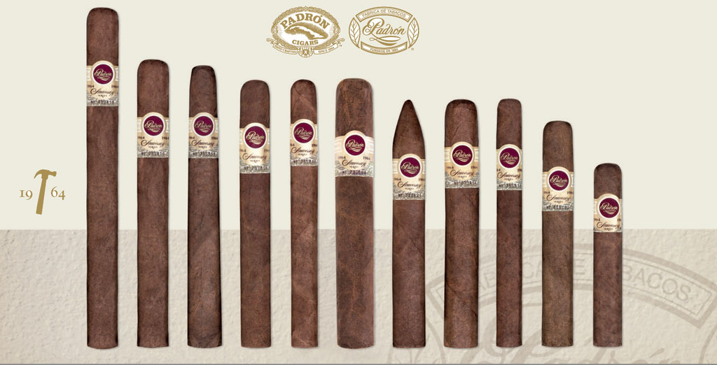 1964 ANNIVERSARY: Maduro and Natural - 1964 Sampler Assortment